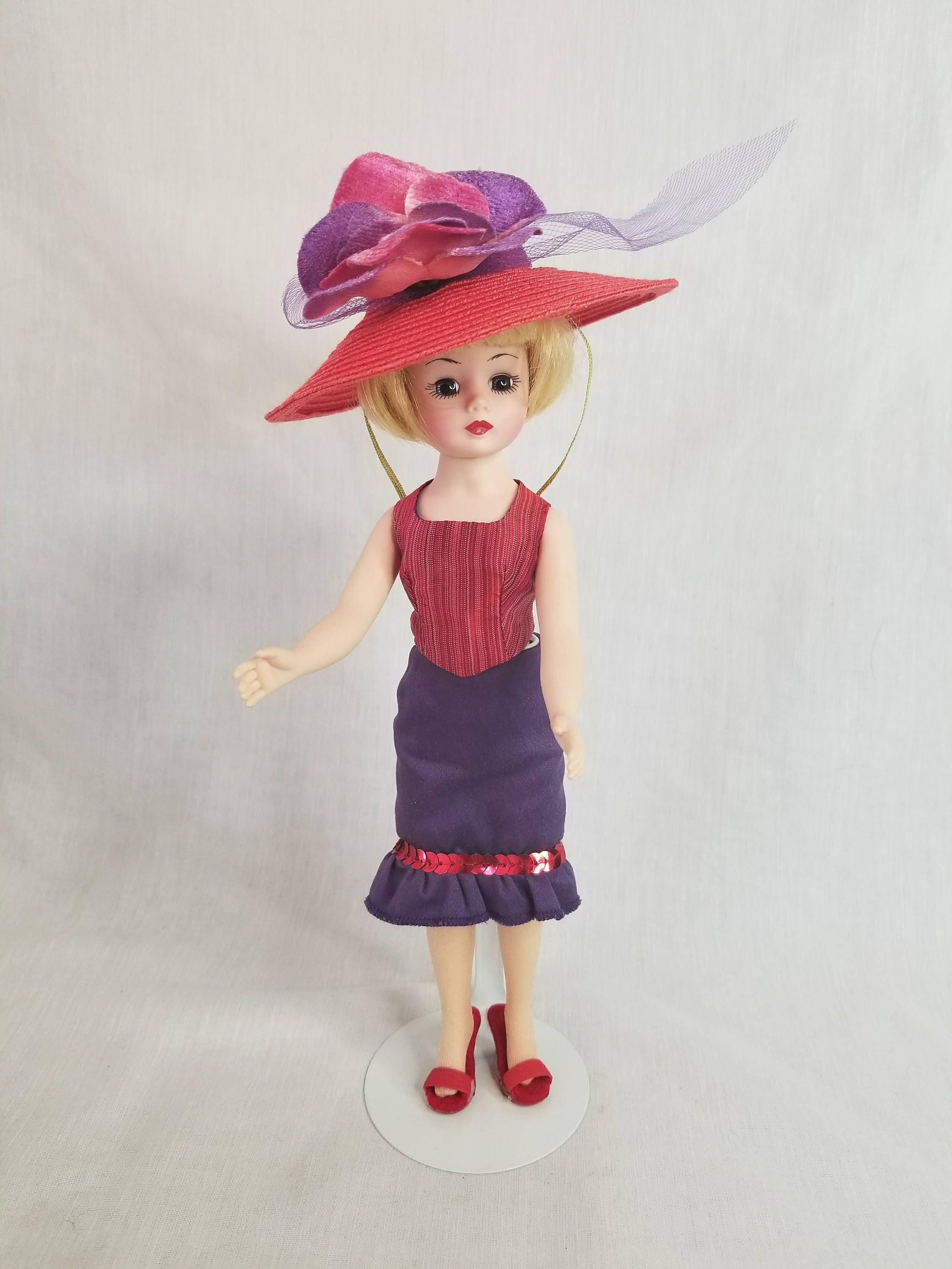 Amazing madame alexander coquette cissy cissette doll no box 10 inch tagged hat with - Madame coquette ...