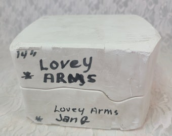 """Doll Mold 14"""" Lovey by Dianna Effner ARMS for Lovey ~ DIY Doll Making ~ Doll Parts ~ Doll Arms Mold ONLY"""