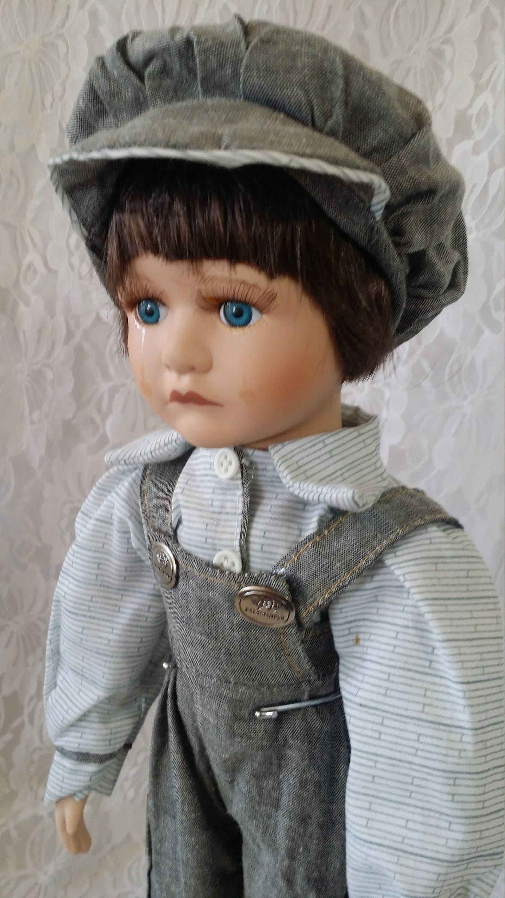 Reserved Vicky 8/8 Benedict ~ Haunted Porcelain Doll 8 Inch