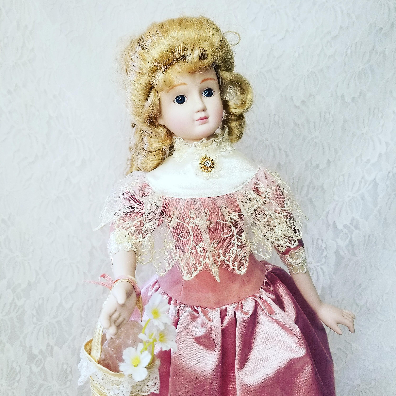 Reserved Tara 11/16 Margot Haunted Doll ~ Victorian Porcelain 18