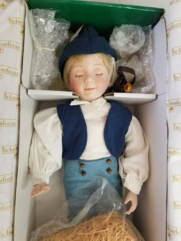 Reserved Johnnybswife 2 10 Little Boy Blue Porcelain Doll
