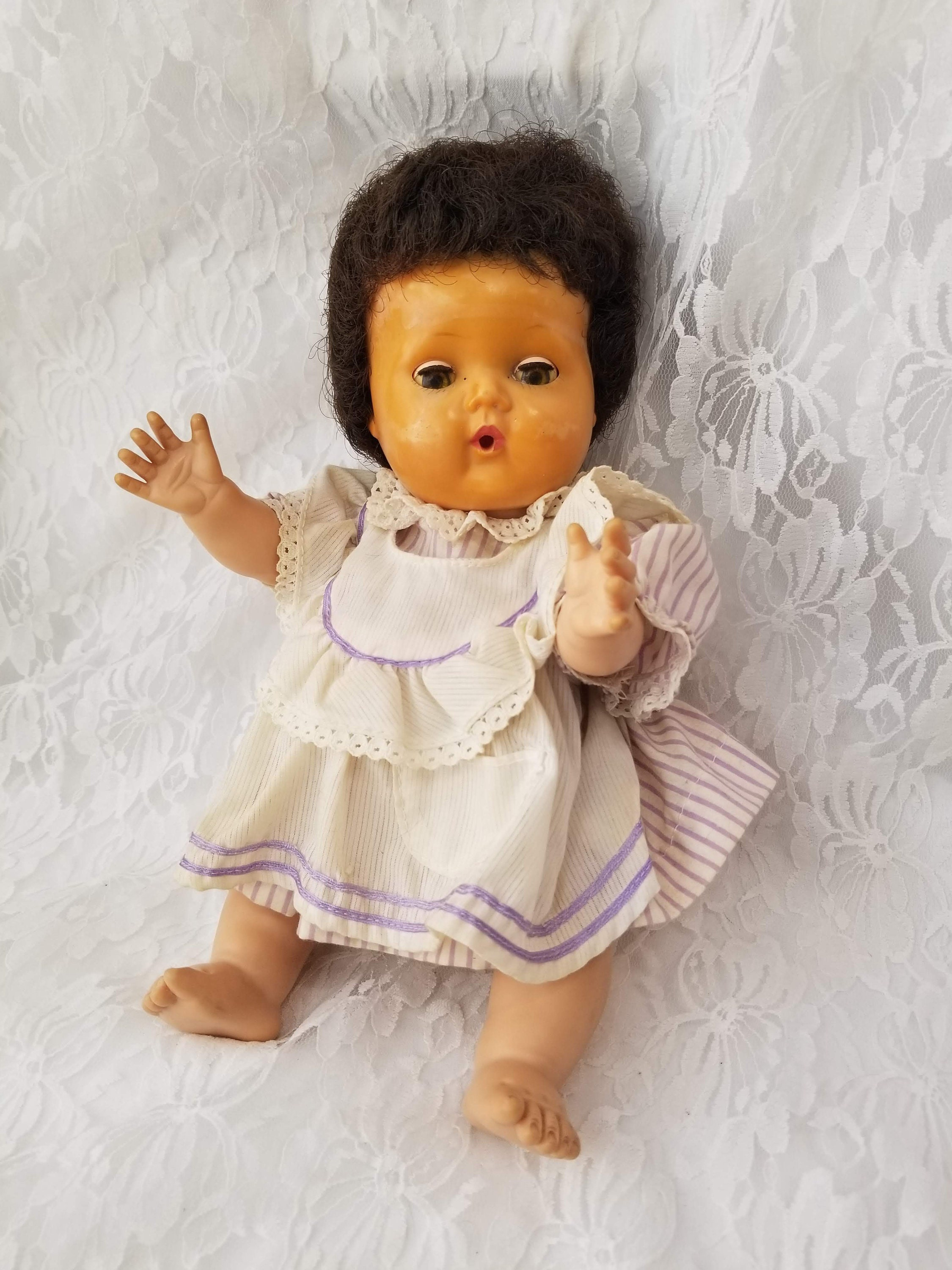 c3ae05bc716f American Character 13 Tiny Tears 1950s Baby Doll ~ Marked ~ Good ...