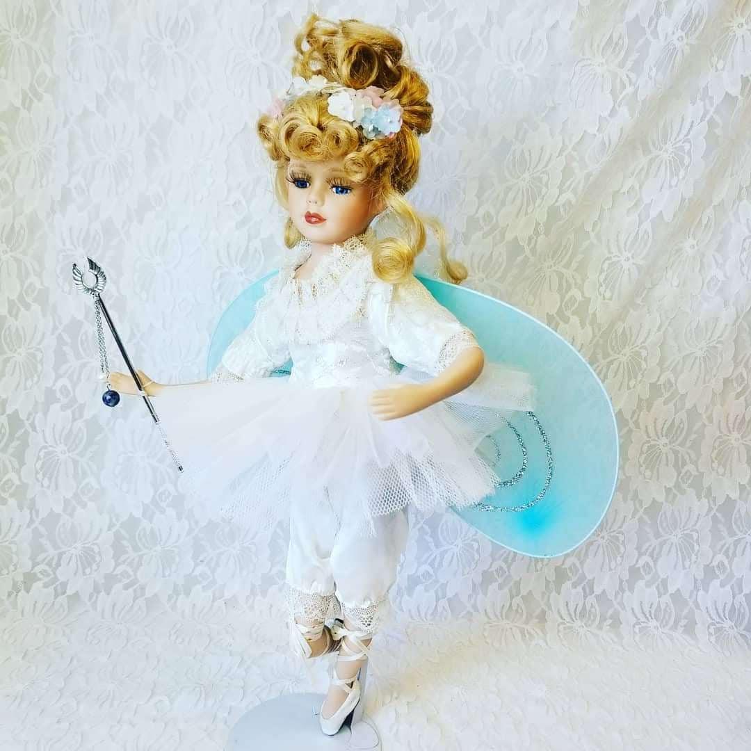 NO RESERVES Nóirín Haunted Doll ~ Fairy Faerie Fae 17