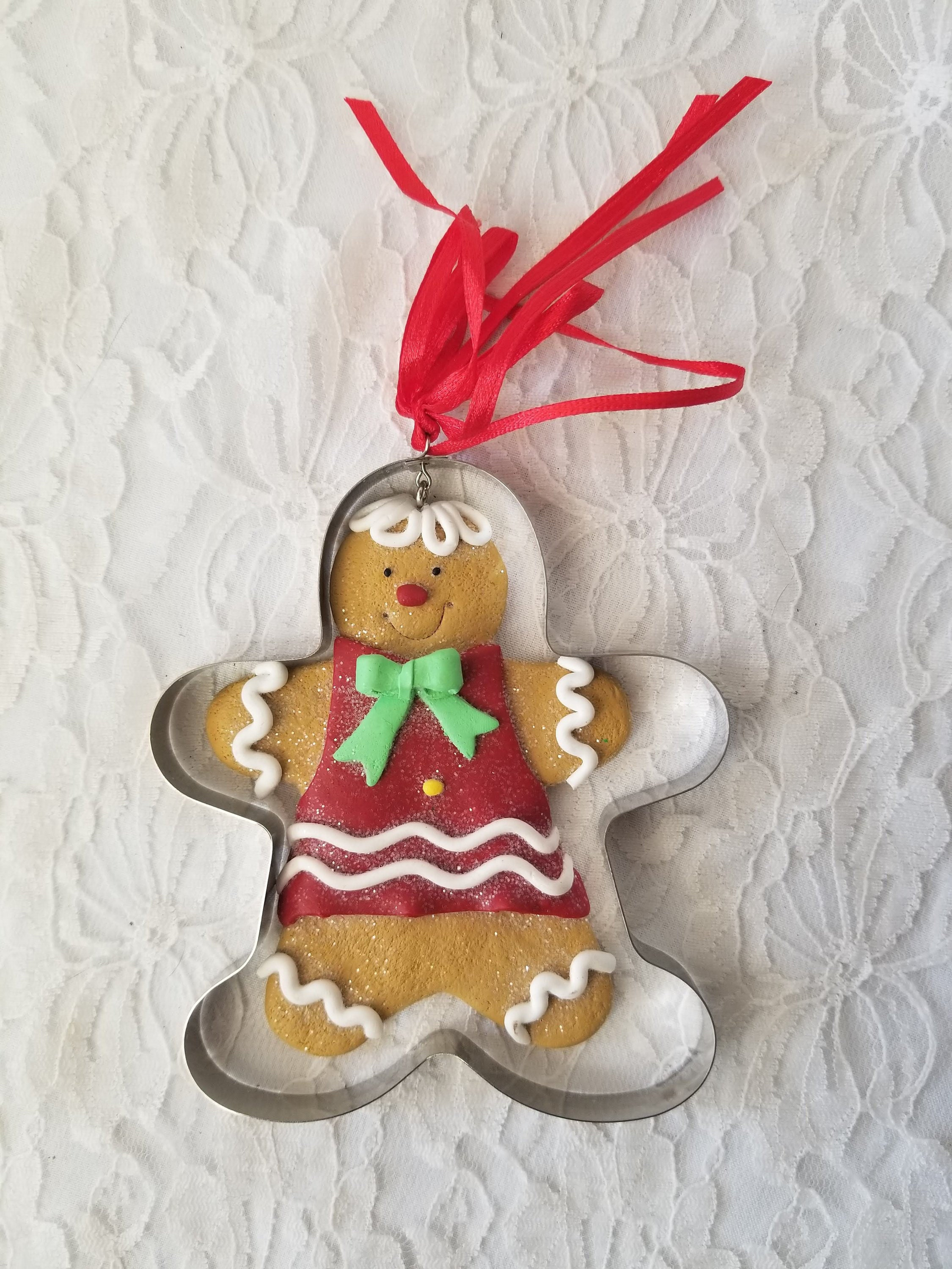 Handmade Primitive Christmas Gingerbread Cookie Cutter
