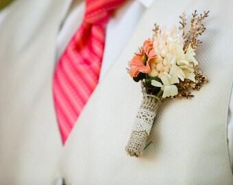 Boutonniere, Braut-Accessoires, Brautblumen