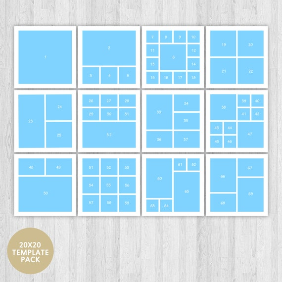 Storyboard Template Blog Template Blog Board Template Photo Etsy