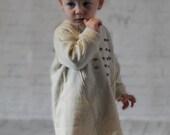 SALE! Winter wool girls dress-Long sleeve toddler dress-Woolen hoodie dress-Winter baby dress-wool toddler dress-Wool girls top 2T 3T 4T