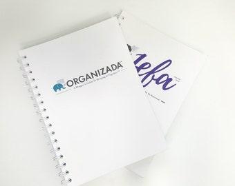 Blogger & Entrepreneur Planner Bundle | Monthly Goals | Delegation Tracking | Social Media Planning | Undated, 6x9