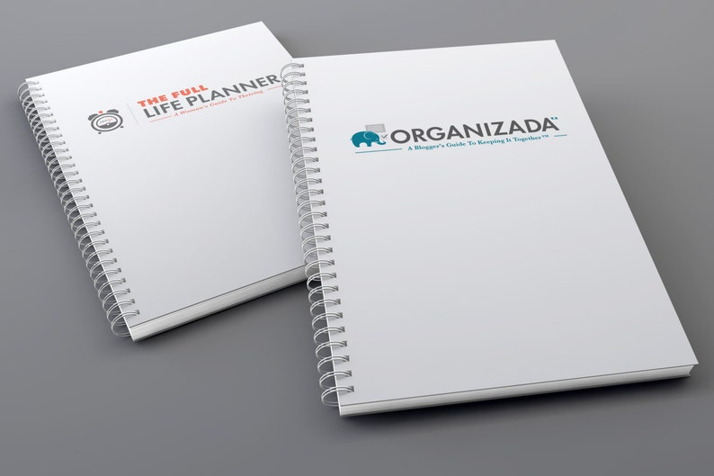 Organizada & Full Life Planners Bundle  Monthly Goals  image 0