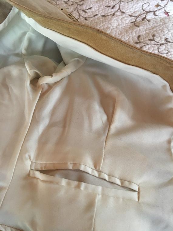 Suede Fringe Bone Jacket-Fringe Jacket-Pioneer We… - image 5