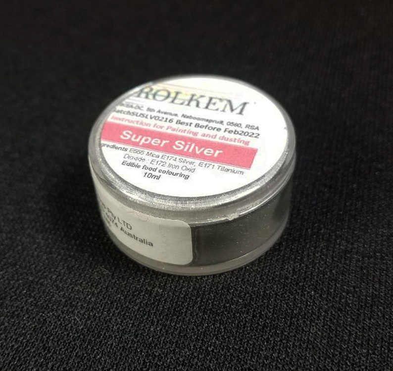 Silver Metallic Super Dust By Rolkem Silver Highlighter Dust image 0