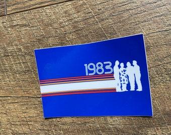 Phish Retro 1983 sticker