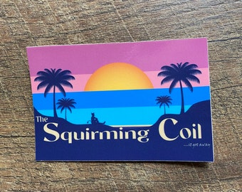 Phish Squirming Coil sticker