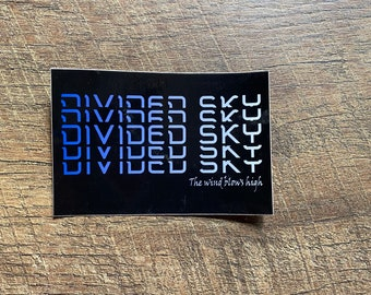 Phish Divided Sky Sticker