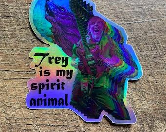 Phish SpiritTrey holographic sticker