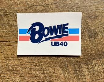 Phish Retro David Bowie sticker