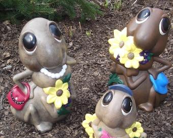 3 piece ceramic ant family