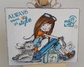 Motivational mini canvas ...