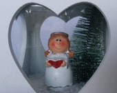 White angel wood lanterns...