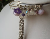Feminine charms brooch fo...