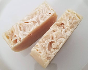 Unscented Goat Milk Soap {3.4-4.4oz}