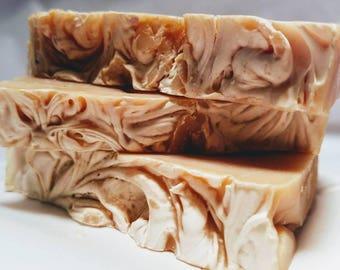 Cedar Wood Goat Milk Soap {3.4-4.4 oz}