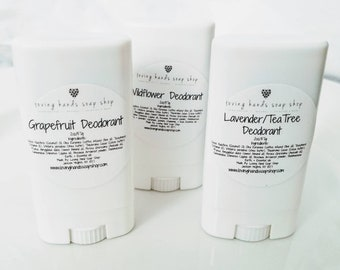 All Natural Deodorant {travel size 2oz}