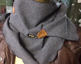 Wool scarf, Unisex scarf, scarf, all-round scarf, practical accessory