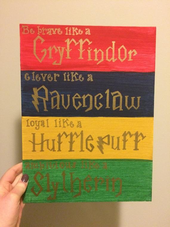 hogwarts houses traits