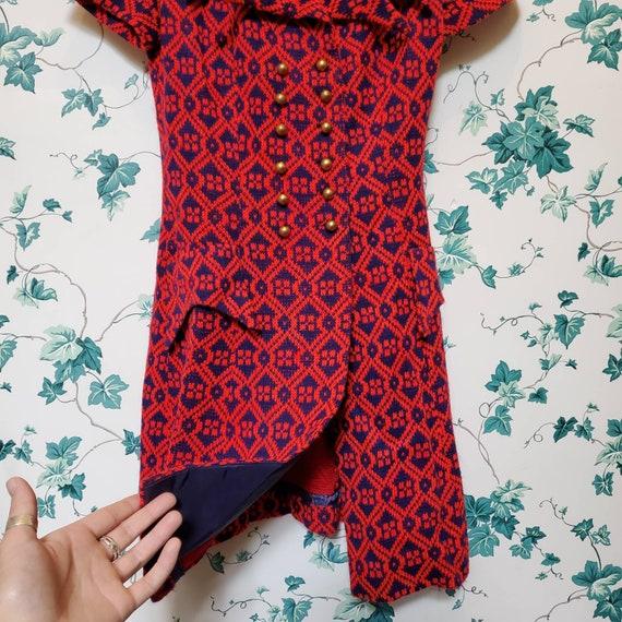 Vintage 60s/70s Mini Sweater Dress XS/S - image 4
