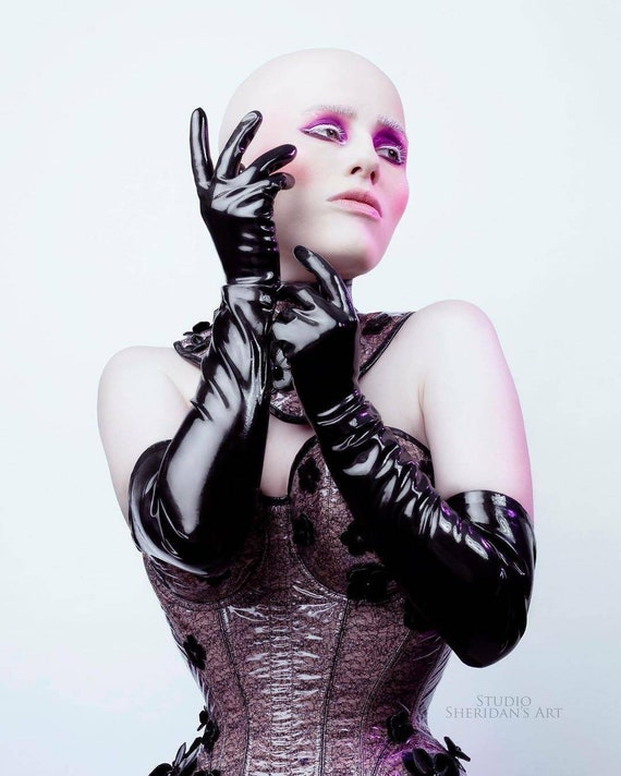 Opera Gloves — Latex