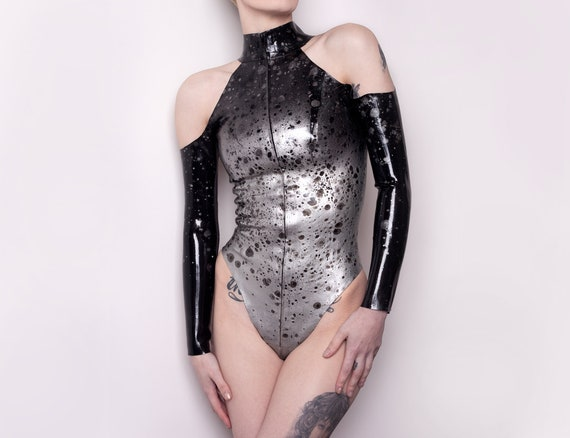 Chrome Splatter Body - Latex