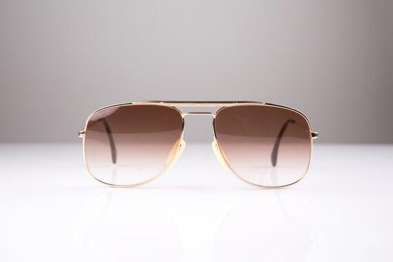 Aviator Zeiss Vintage Original 80s Sunglasses