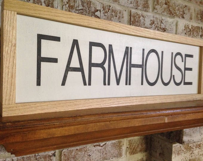 PAINTED 36x12/Farmhouse Sign/Wall Decor/Signs with Quotes/Custom Signs/Country Sign/Country Wall Decor/Wall Hangings/Unique Gift Ideas