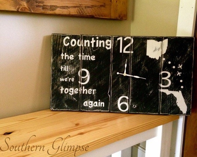 Custom Clocks/Shiplap Clocks/Clocks for Wall/Personalized Clocks/Sentimental Clock/Clocks with Numbers/Rustic Clocks/Farmhouse Clocks