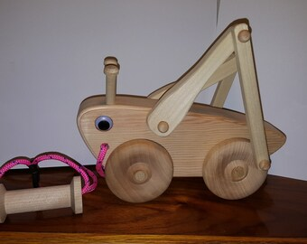 Wooden Pull Toy Etsy