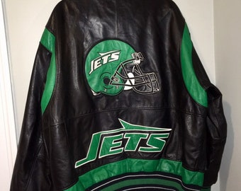 100% authentic 216be 85368 Jets jacket | Etsy