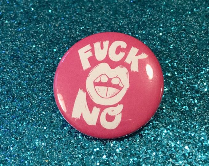 Fuck No Button