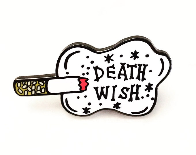 Death Wish Enamel Pin