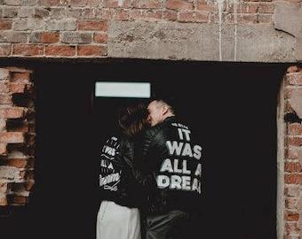 Custom Painted jacket