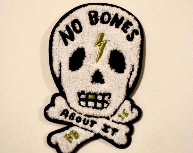 No Bones About It Chenille Patch