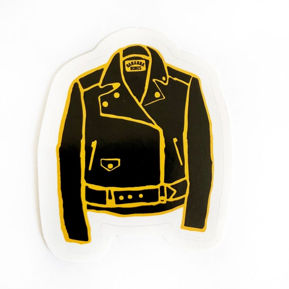 Leather Jacket Sticker