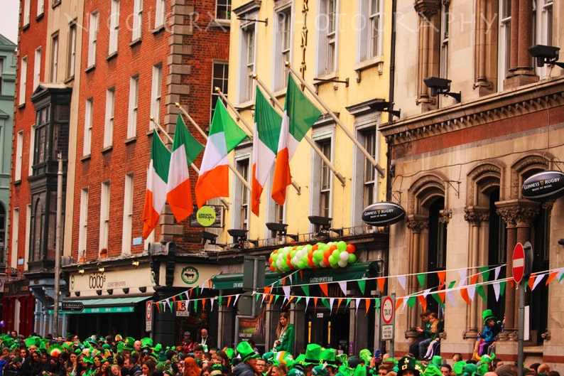 St Patrick S Day Parade Dublin Ireland Irish Photography