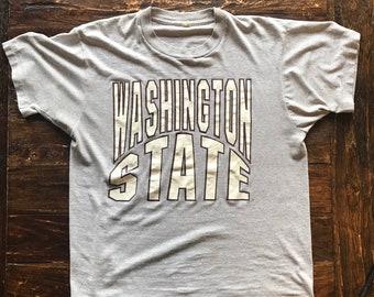 f2455966 Vintage 1989 Washington State University WSU Shirt