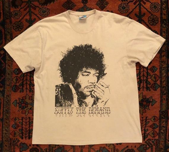 "Vintage 1990s Jimi Hendrix ""Supply the Demand"" All"