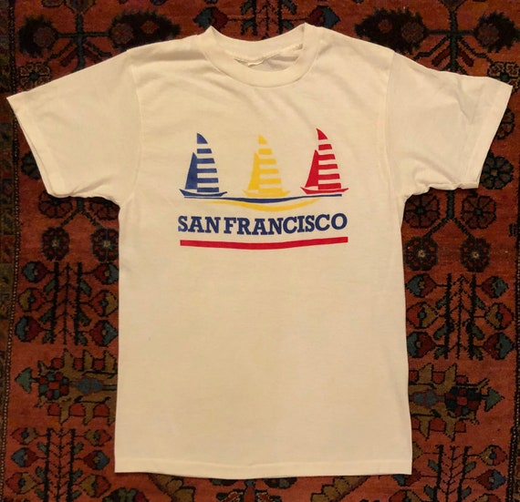 Soft Vintage 1980/90s San Francisco Sailboat Novel