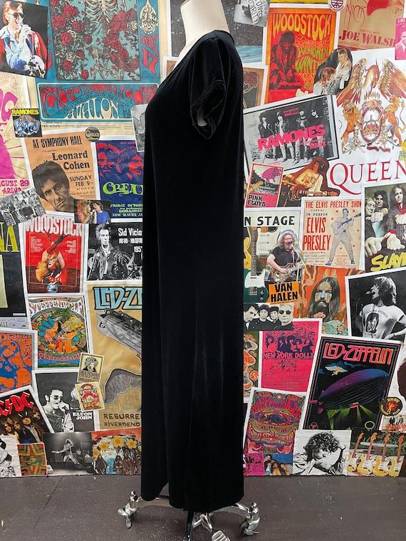 Vintage Women's 1980s-90s Short Cap Sleeve Scoop … - image 6