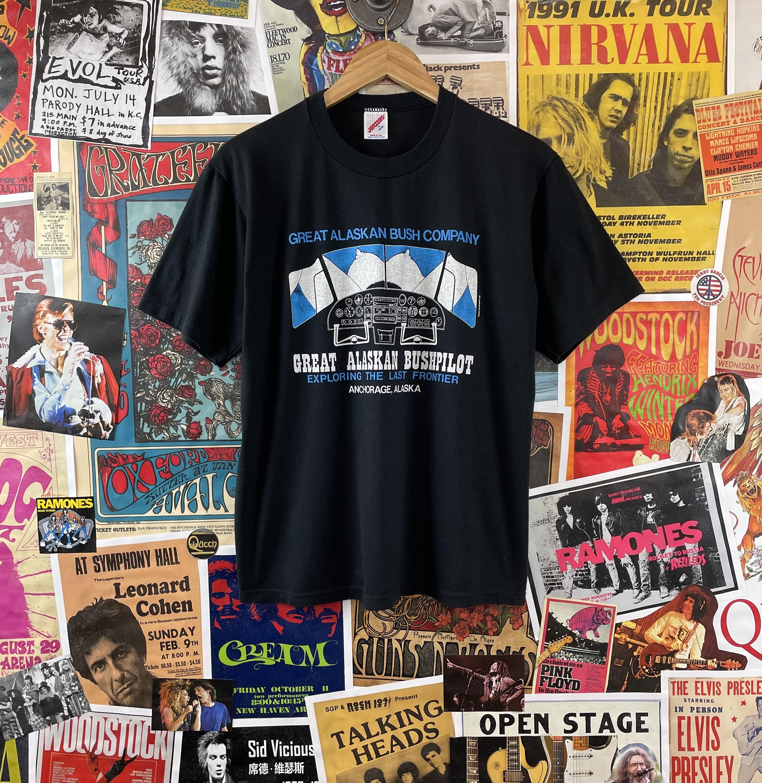80s Tops, Shirts, T-shirts, Blouse   90s T-shirts Vintage 1980S-90S Great Alaska Bush Company Bushpilot Anchorage Graphic Souvenir Novelty T-Shirt $95.00 AT vintagedancer.com