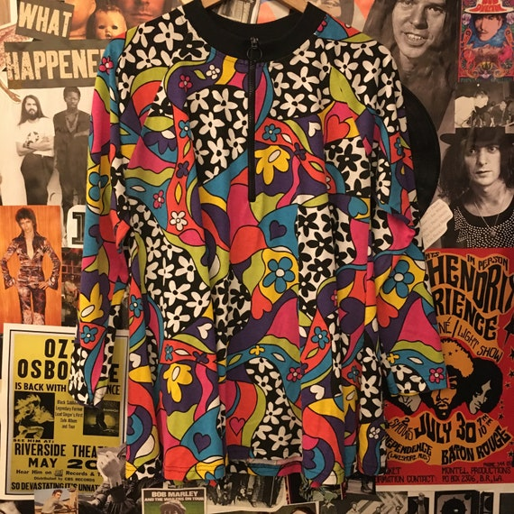 Vintage Women's 1980s Does 1960s Flower Power All