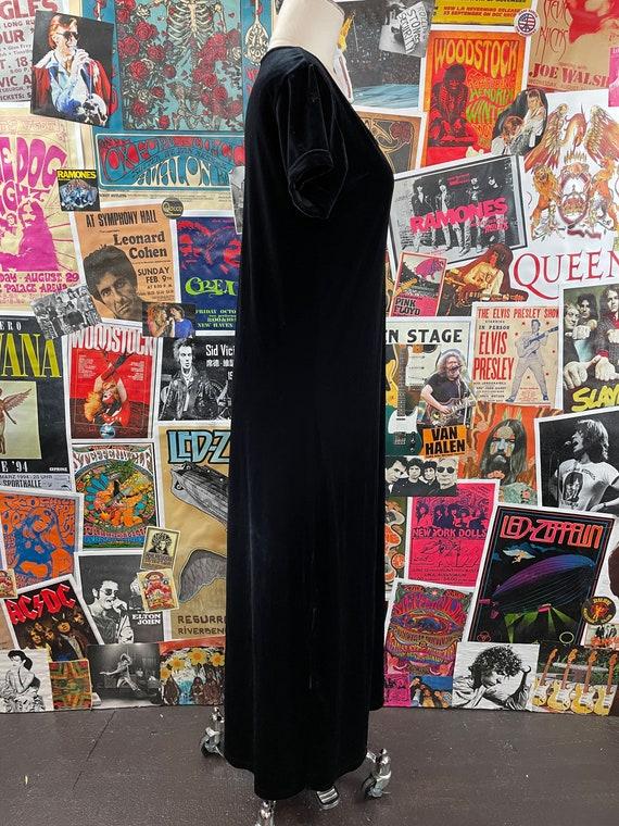 Vintage Women's 1980s-90s Short Cap Sleeve Scoop … - image 7
